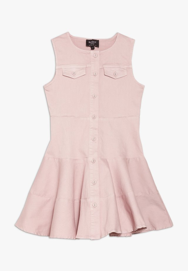 MILLY DRESS - Robe en jean - latte pink