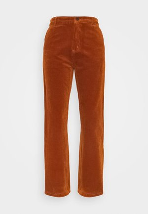 PIERCE PANT - Trousers - brandy