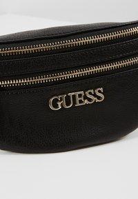 Guess - MANHATTAN - Bum bag - black - 6