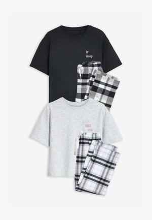 2 PACK - Pyjama set - black