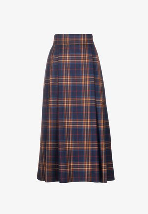 FABY - A-line skirt - var blu/ruggine