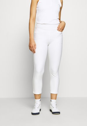 PULLON ANKLE PANT - Trousers - white