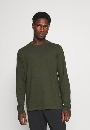 DYED CREW - Pyjama top - ivy green