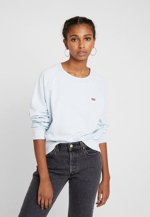 RELAXED CREW NEW - Bluza - baby blue