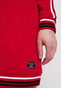 Superdry - COLLEGE HOODED DRESS - Day dress - burnt red/ice marl - 5