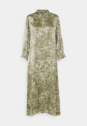 EMILY DRESS - Day dress - burnt olive