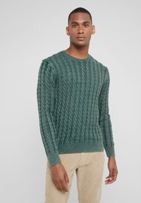 HKT by Hackett - CABLE CREW - Strikkegenser - dark green - 0
