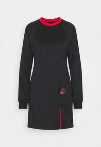 Jordan - DRESS - Vestido informal - black/university red - 4