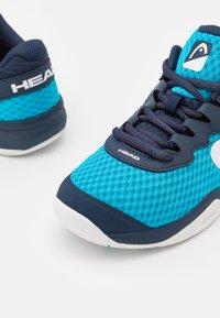Head - SPRINT 3.0 CARPET JUNIOR UNISEX - Tennisschoenen voor alle ondergronden - ocean/white - 5