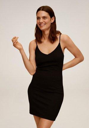 NUVERTU 7 - Etui-jurk - zwart