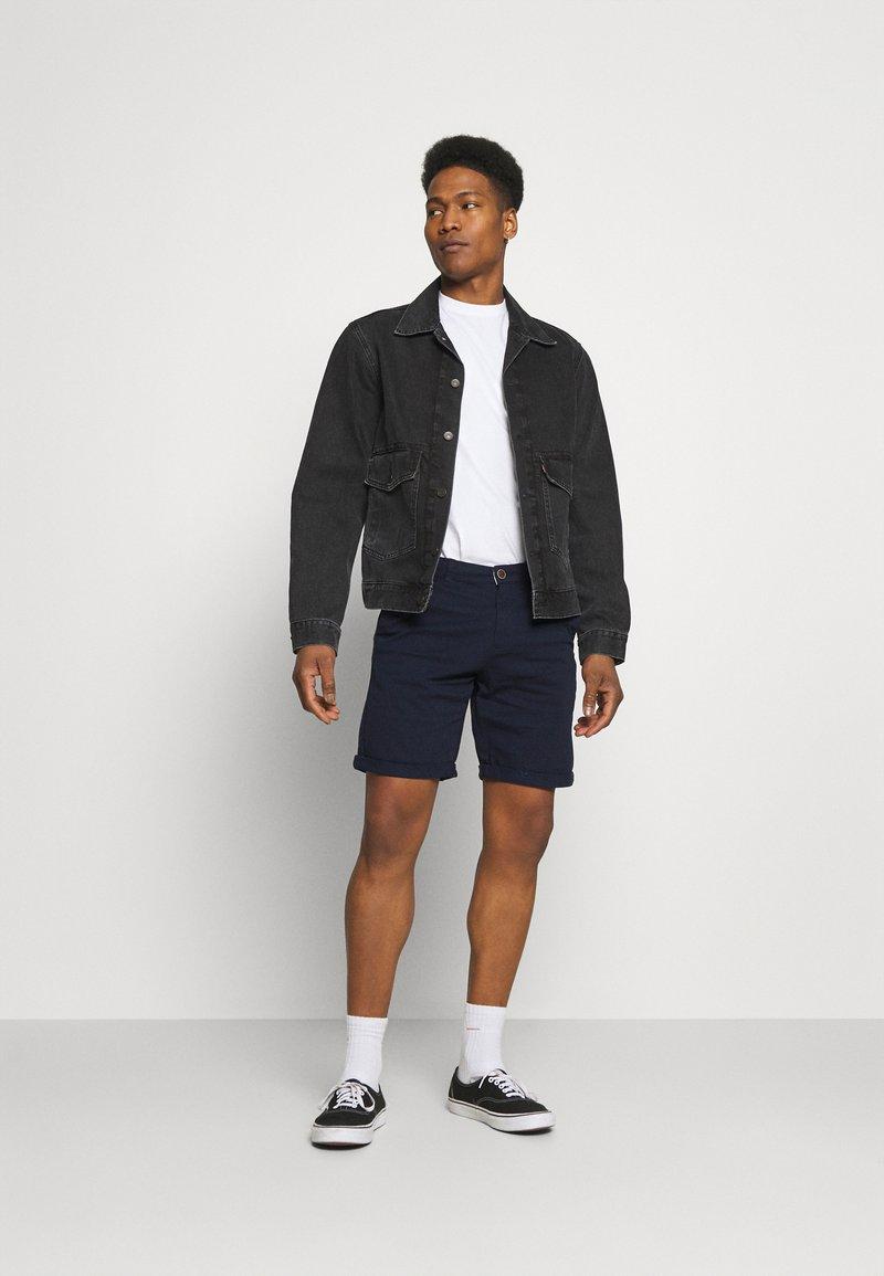 Jack & Jones - JJIDAVE 2 PACK - Shorts - navy blazer