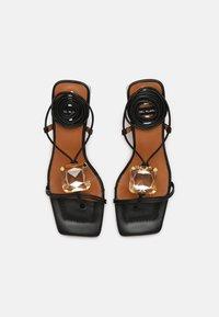 ÁNGEL ALARCÓN - T-bar sandals - black - 5