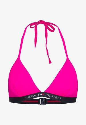 CORE SOLID LOGO TRIANGLE FIXED - Top de bikini - pink glo