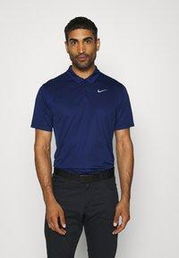 Nike Golf - DRY ESSENTIAL SOLID - Funktionstrøjer - blue void/silver - 0