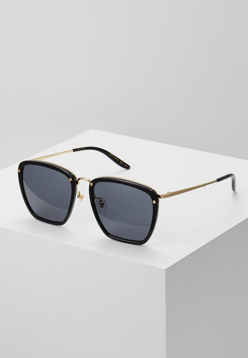 Gucci - Sunglasses - black/gold-coloured/grey