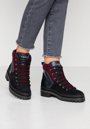 COSY OUTDOOR BOOTIE - Ankle boots - blue