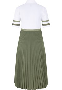 Bogner - Maxi dress - creme/oliv-grün - 1