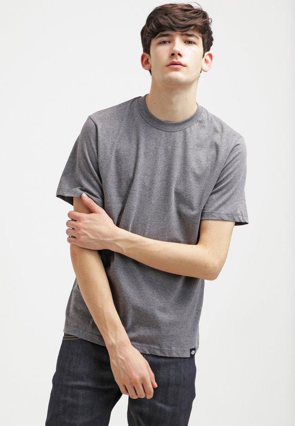 Dickies 3 PACK - T-shirt basic - schwarz/grau/weiß/czarny Odzież Męska AFEO