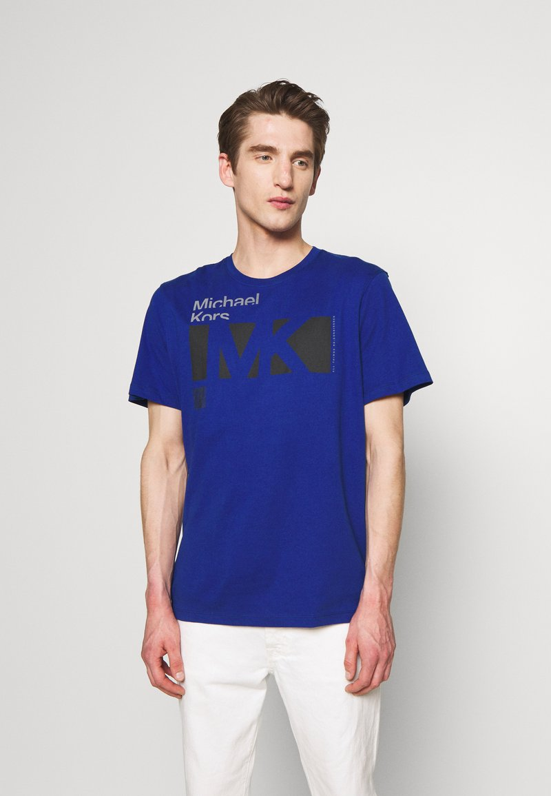 Michael Kors - CITY TEE - T-shirt con stampa - twilight blue