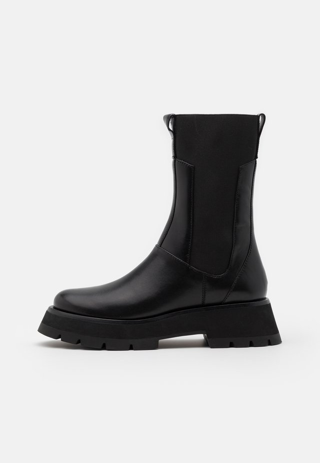 KATE LUG SOLE COMBAT BOOT - Bottes à plateau - black