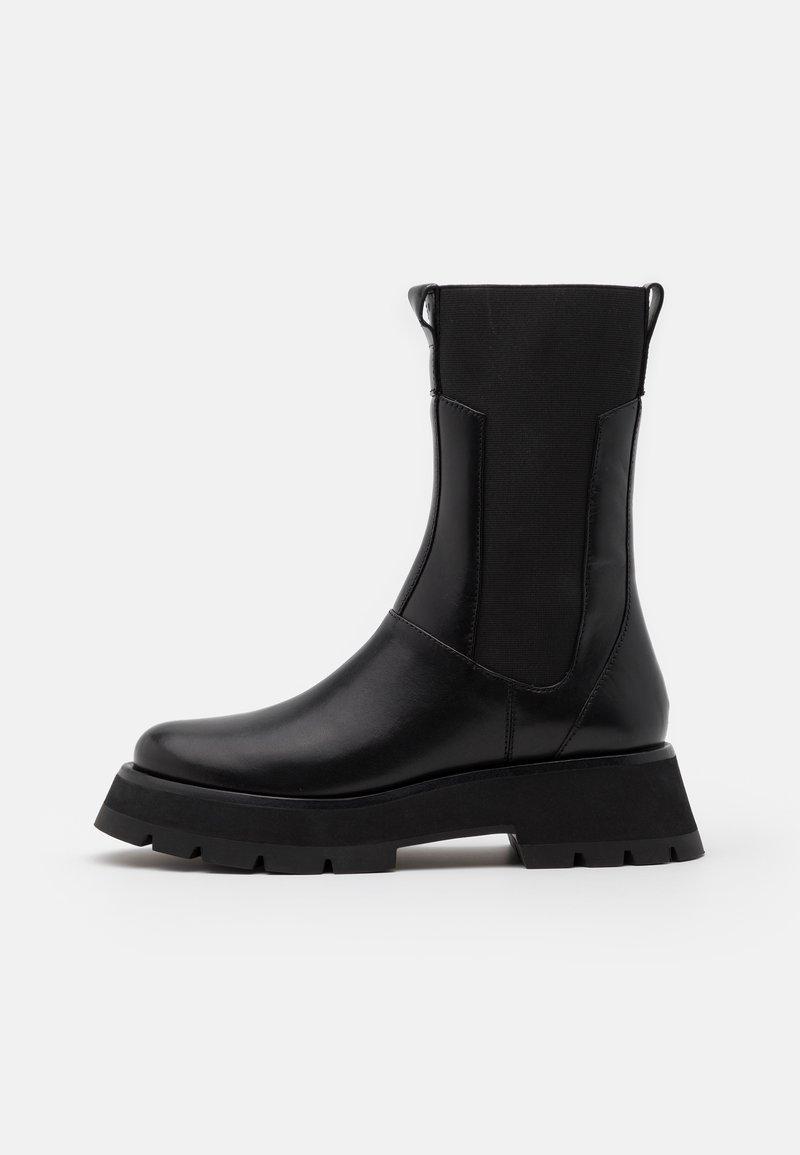 3.1 Phillip Lim - KATE LUG SOLE COMBAT BOOT - Platform boots - black