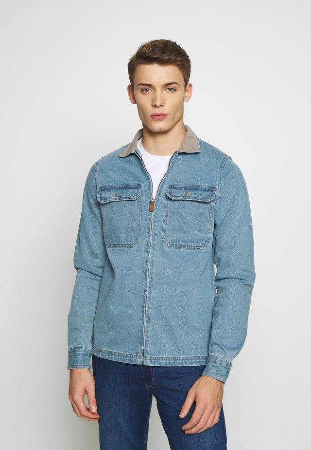 ANNO - Jeansjakke - light blue