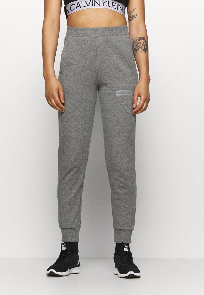 Calvin Klein Performance - PANT - Pantalon de survêtement - grey