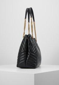 Tory Burch - KIRA CHEVRON TOTE - Handbag - black - 3