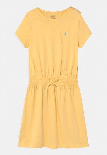 PLAY - Jersey dress - banana peel