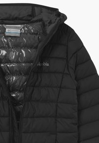 Columbia - POWDER LITE BOYS HOODED - Snowboard jacket - black - 2