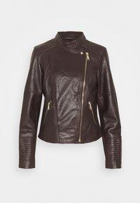 Esprit Collection - Kožená bunda - bordeaux red - 0