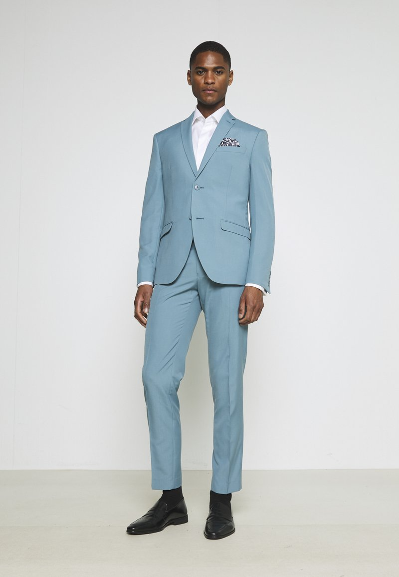 Isaac Dewhirst - PLAIN SUIT SET - Completo - turquoise