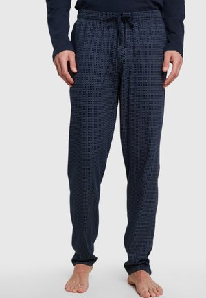 SCHLAFHOSE LANG - Pyjama bottoms - blue