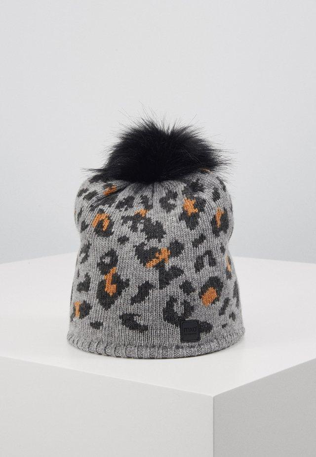 KIDS GIRL LEO - Bonnet - mittelgraumeliert/sudanbrown