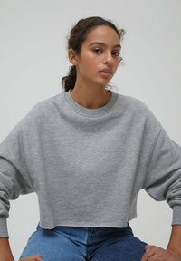 PULL&BEAR - Sweatshirt - grey - 4