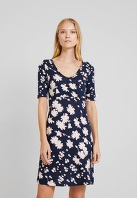 TOM TAILOR - DRESS BASIC - Day dress - navy - 0