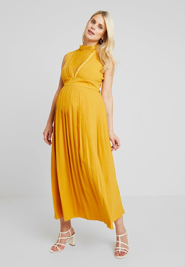 PENELOPE MIDAXI DRESS - Gallakjole - spice gold