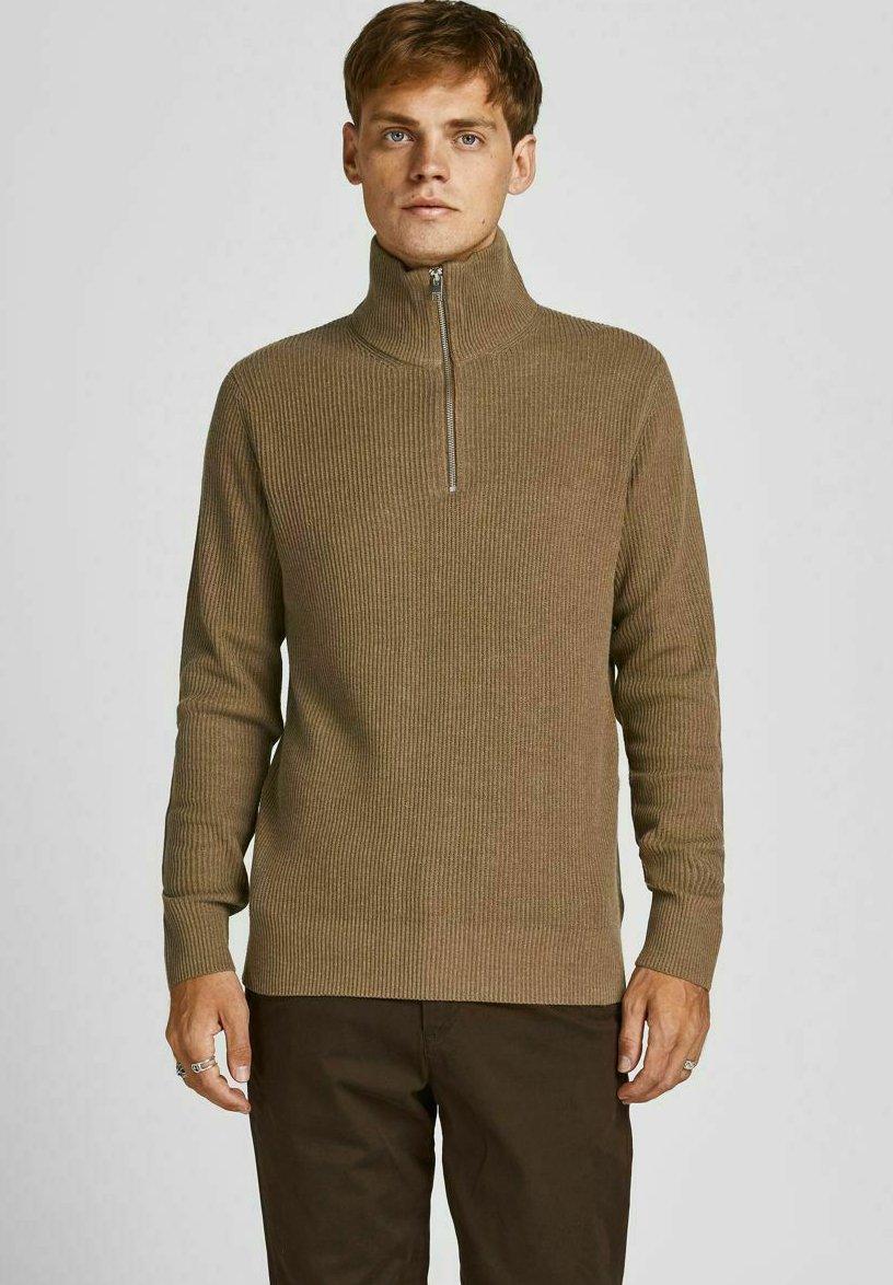 Homme JPRBLAPERFECT HIGH NECK ZIP - Pullover