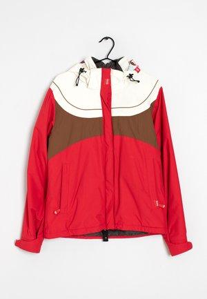 Trainingsvest - white/brown/red