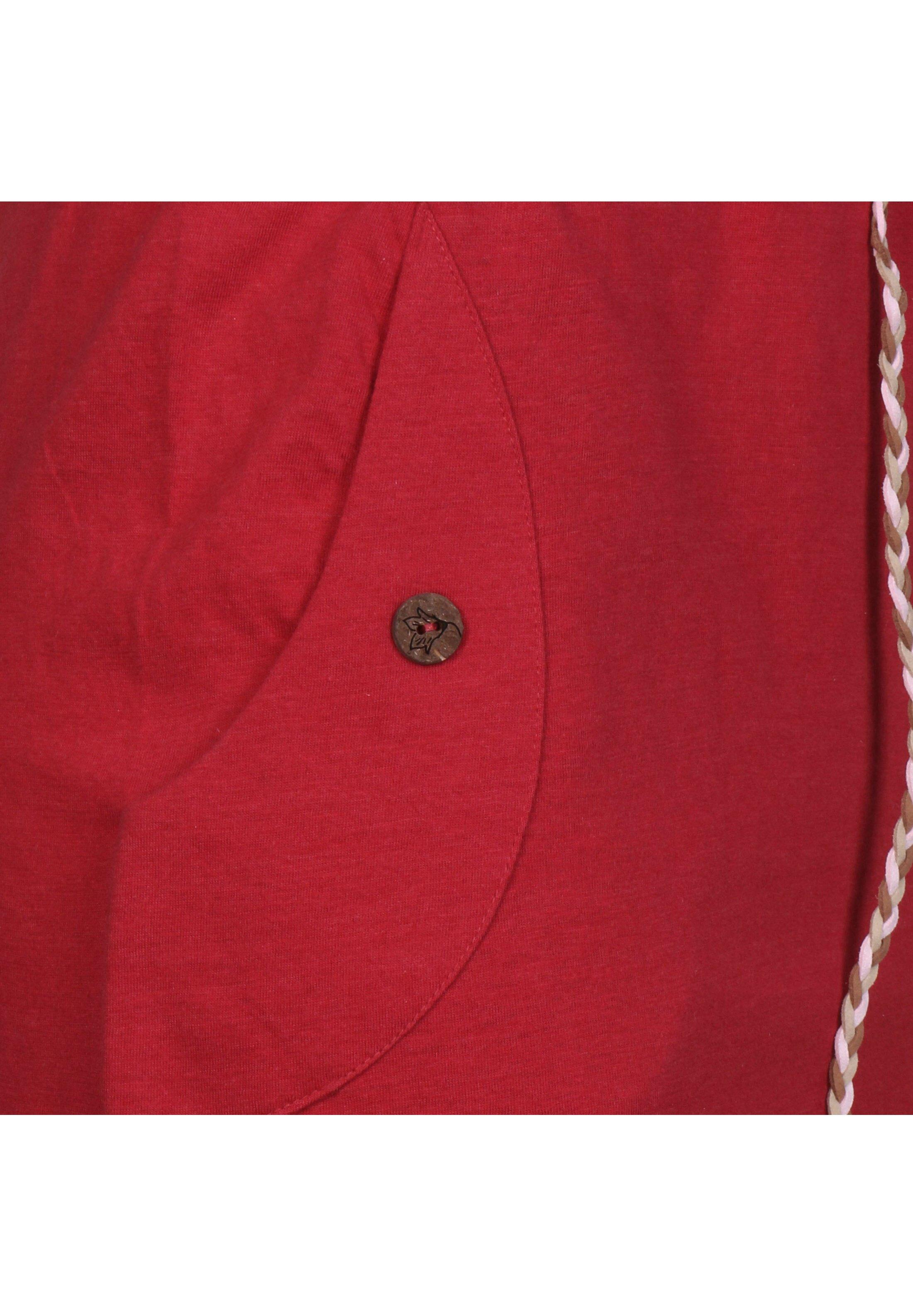 Ragwear Freizeitkleid red/rot
