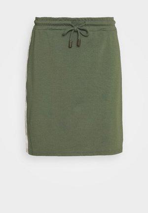 MLTINE BLACKIE SKIRT - Mini skirt - laurel wreath/birch/sesame