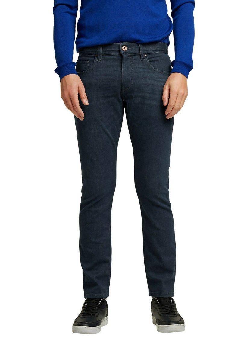 Esprit - Slim fit jeans - blue dark washed