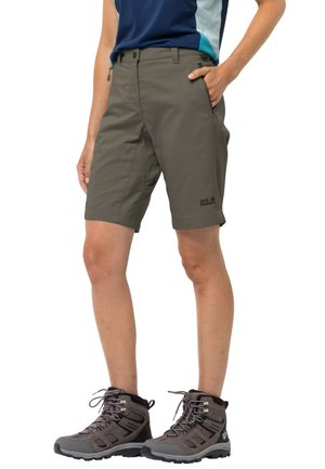 Outdoor shorts - grape leaf