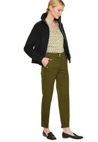 comma - Trousers - deep green - 1