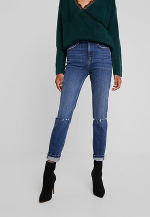 ZOEY HIGHWAIST - Jeans Skinny - dark blue