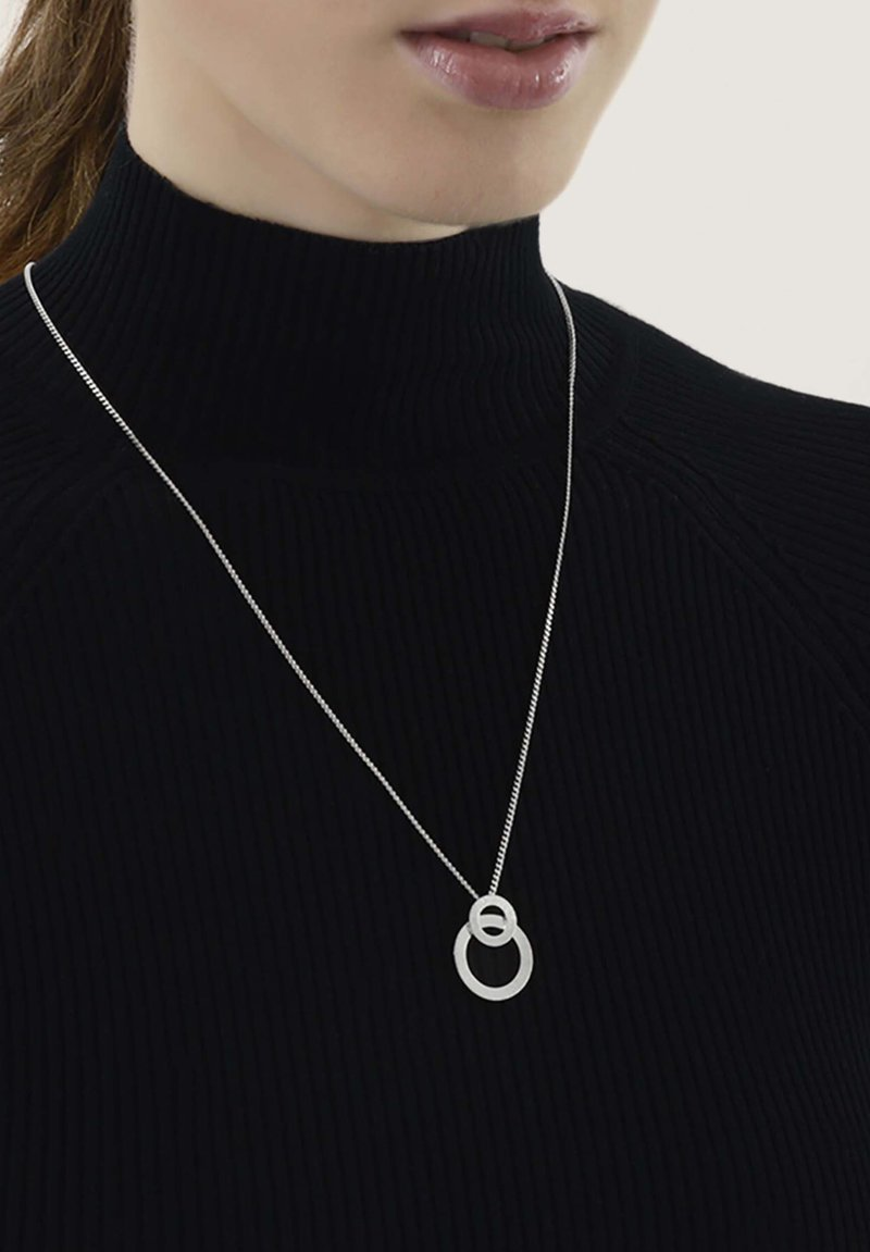 Dansk Copenhagen - THEIA OPEN DOT - Necklace - rhodium plating
