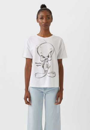 TWEETY - Basic T-shirt - white