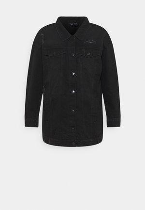 VMOLIVIA  - Jeansjakke - black washed