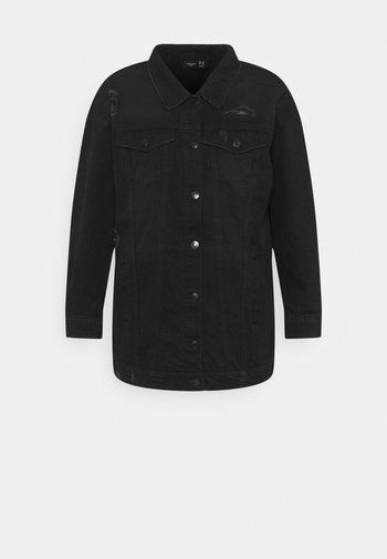 VMOLIVIA  - Denim jacket - black washed
