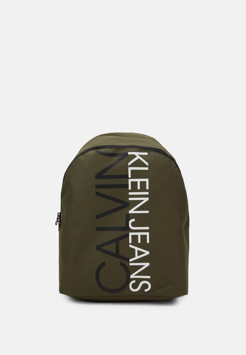 Calvin Klein Jeans - INSTITUTIONAL LOGO BACKPACK - Zaino - green